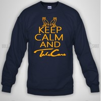 Bull-shirt.com Keep Calm Take Care ovo owl Drake Crewneck Sweatshirt Bull-shirt.com
