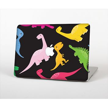 The Vector Neon Dinosaur Skin Set for the Apple MacBook Air 11""