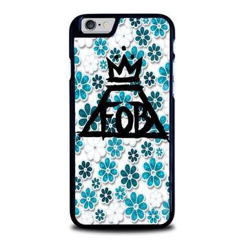 fall out boy floral iphone 6 6s case cover  number 1