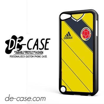 Colombia Soccer Jersey For Ipod 5 Ipod Touch 5 Case Phone Case Gift Present YO