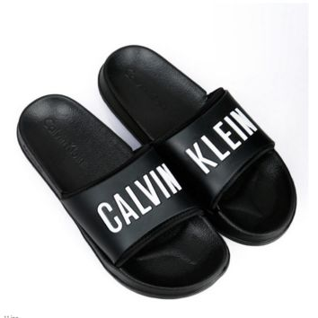 Calvin Klein Casual Woman Fashion Sandals Slipper Shoes B-KWKWM