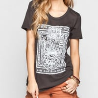 Billabong Let's Shake Hands Womens Tee Black  In Sizes