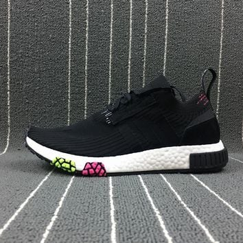 ESBON Adidas Boost Nmd Racer Spring NMD 3 Black Women Men Fashion Trending Running Sports Shoes