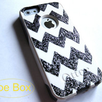 OTTERBOX iPhone 5/5S case, case cover iPhone 5/5S Otterbox ,gift, chevron commuter otterbox
