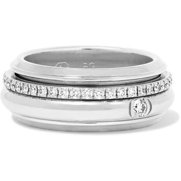 Piaget - Possession 18-karat white gold diamond ring