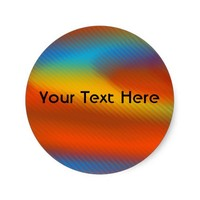 Bright Colors Stickers