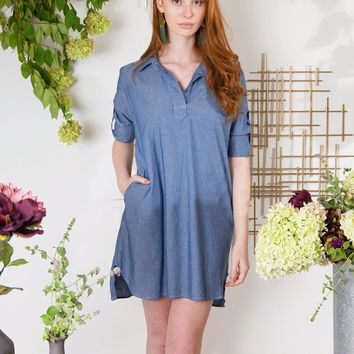 Rachana Chambray Tunic