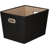 Honey-Can-Do Large Decorative Storage Bin with Handles - Walmart.com