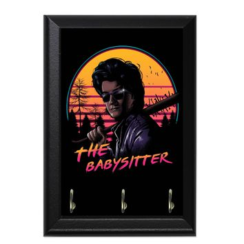 The Babysitter Decorative Wall Plaque Key Holder Hanger