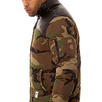 The Andoy Jacket in Camo