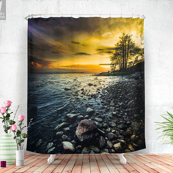 Aureus Shower curtain