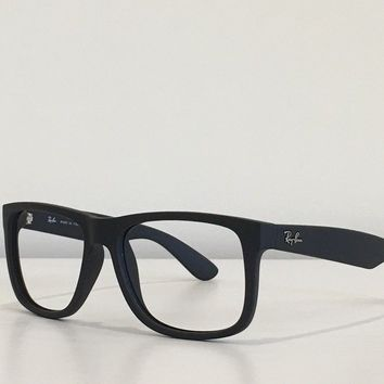 70 Ray Ban RB 4165 622/2V JUSTIN Rectangle Black Sunglasses Frame Only 54-16-145