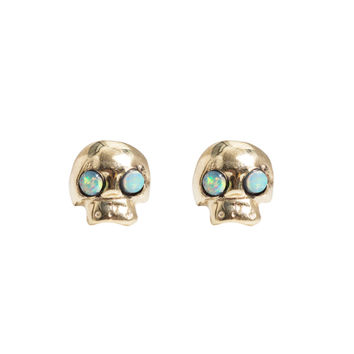 Mini Skull Earring, Single - Catbird