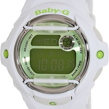 G-Shock Baby G Vivid Color 169R Watch White/Green, One Size