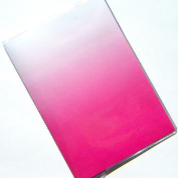 Ombre Passport Holder Cover Case -- Pure Magenta