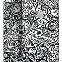 Black and White Aztec Paisley - Skin-kit for the iPhone 8 or 8 Plus