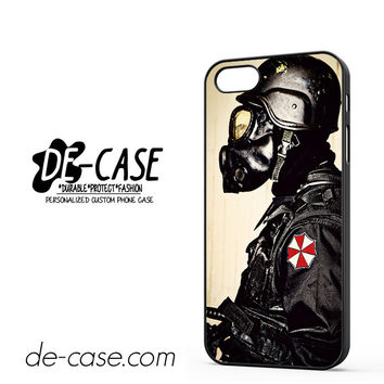 Umbrella Agent Resident Evil For Iphone 5 Iphone 5S Case Phone Case Gift Present YO
