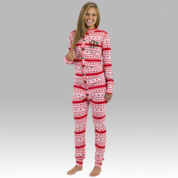 Monogrammed Pajamas, Christmas Pajamas, Christmas Long Johns, Union Suit, Christmas Pajama Set, Family Pajamas, Holiday Pajamas, Bodysuit
