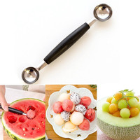 Hot Deal Home On Sale Easy Tools Kitchen Helper Watermelon Stainless Steel Fruits Ice-cream Spoon [11499080207]