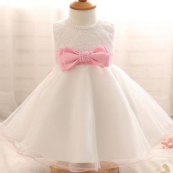 Baby Girl 1st Birthday Tutu Dress-Special Occasion-Wedding