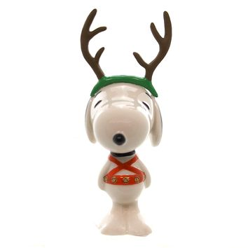 Licensed Sled Dog Snoopy Christmas Figurine