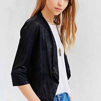 BB Dakota Faux-Suede Jacket- Black