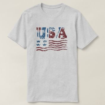 USA Patriotic Flag T-Shirt