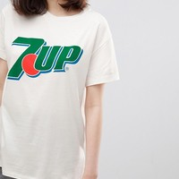 Stradivarius 7 Up T-Shirt at asos.com
