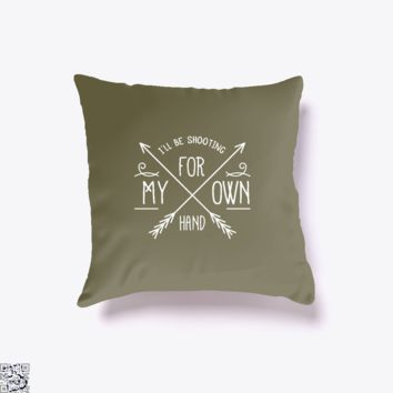 I'll Be Shooting For My Own Hand, Sea Turtles Throw Pillow Cover