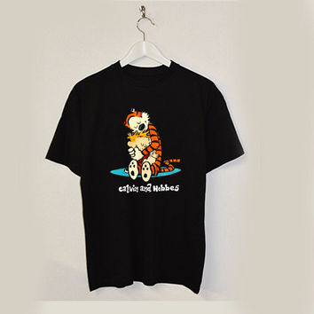 Calvin and Hobbes T-shirt unisex adults USA