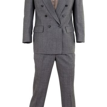 Bill Blass Double-Breasted Suit Set