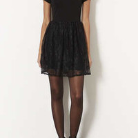 LACE FLIPPY DRESS