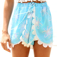 SABO SKIRT Stratus Cloud Shorts - Blue - 48.0000