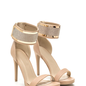 Glam Patrol Single Strap Heels