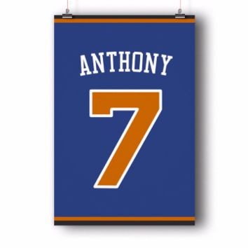 Carmelo Anthony Number 7 Jersey