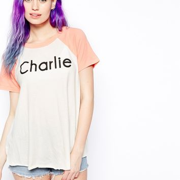 Wildfox You Called Retro Raglan T-Shirt