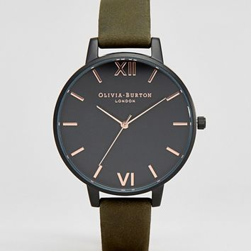 Olivia Burton After Dark Khaki Watch OB16AD05 at asos.com