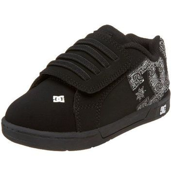 DC Kids Court Graffik V2 Skate Shoe (Toddler)