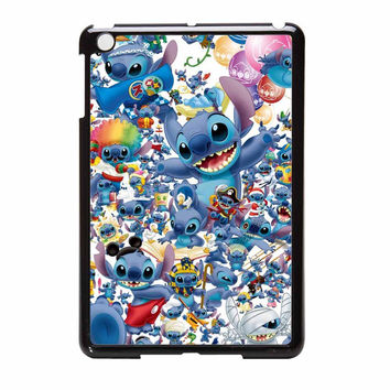 Stitch Disney Collage iPad Mini Case