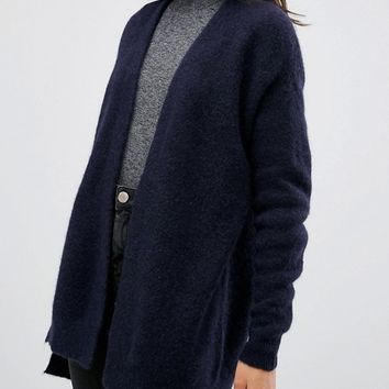 Selected Livana Open Knit Cardigan at asos.com