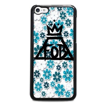 FALL OUT BOY FLORAL iPhone 5C Case Cover