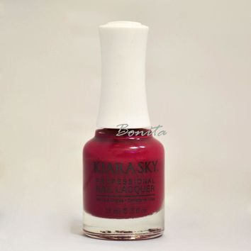 Kiara Sky Nail Polish Blow a Kiss N575 0.5 oz