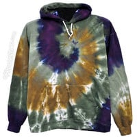 Tie Dye Mystic Spiral  Hoodie on Sale for $47.95 at The Hippie Shop
