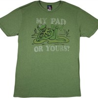 Muppets Kermit the Frog T-Shirt by Junk Food  Vintage TV Show Shirt