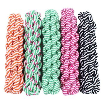 Tough Strong Puppy Dog Pet Tug Cotton Rope Chew Toy 21cm Newest 2016