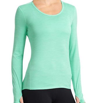 Athleta Womens Shadow Stripe Chi Top