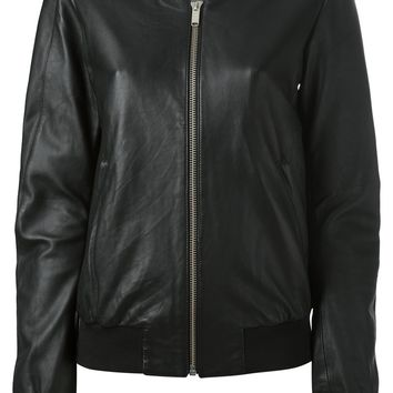 Silent Damir Doma 'June' Leather Jacket