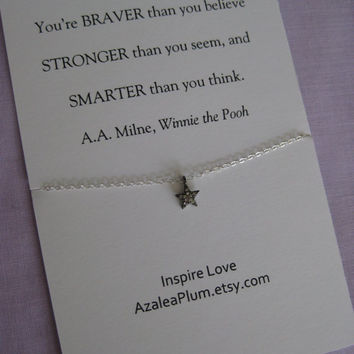 SISTER Jewelry. Sisters Necklace. Mother Daughter Jewelry // Inspirational// Granddaughters // Graduation Gift // Best Friend Necklace