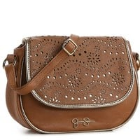 Jessica Simpson True Romance Perforated Cross Body Bag