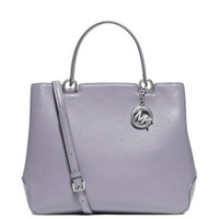 Anabelle Large Top-Zip Leather Tote | Michael Kors